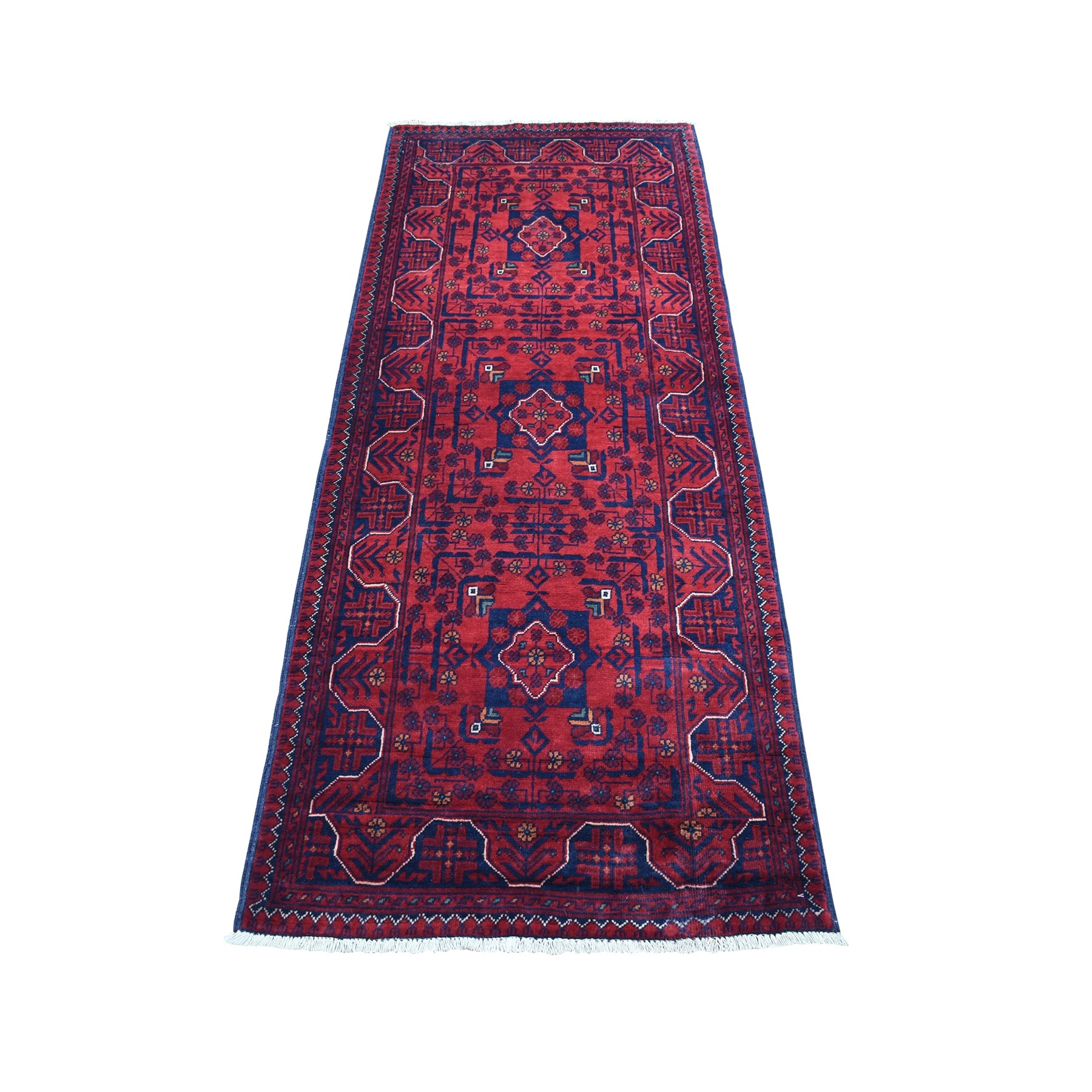 Nomadic And Village Collection Hand Knotted Red Rug No: 1135942