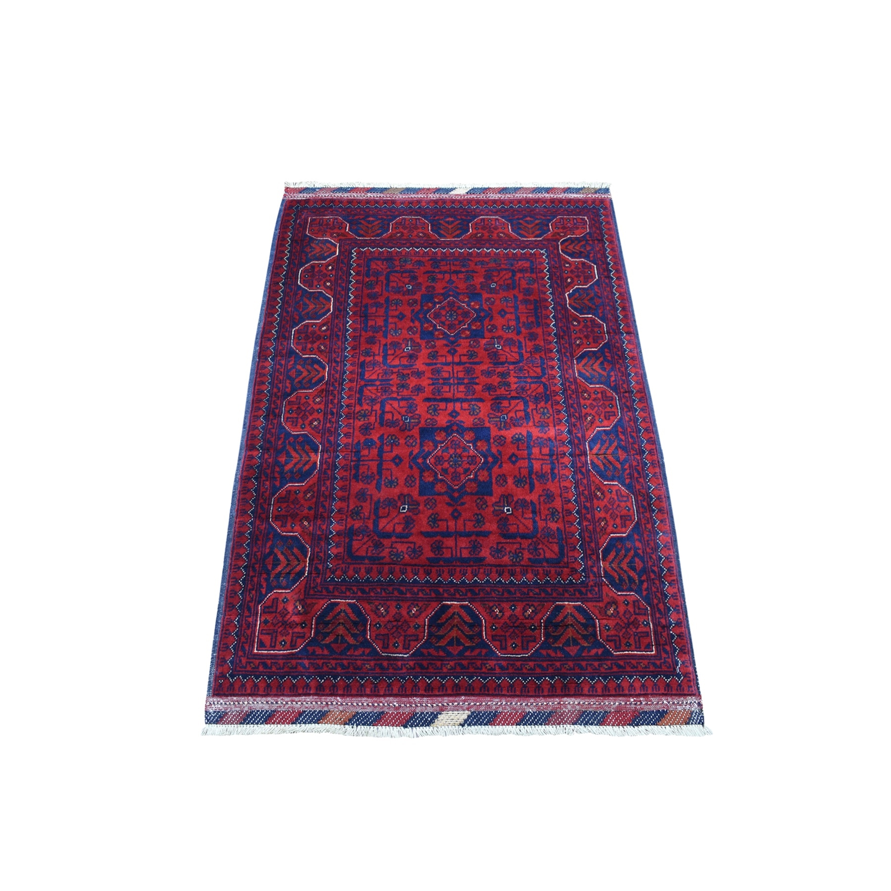 Nomadic And Village Collection Hand Knotted Red Rug No: 1135950