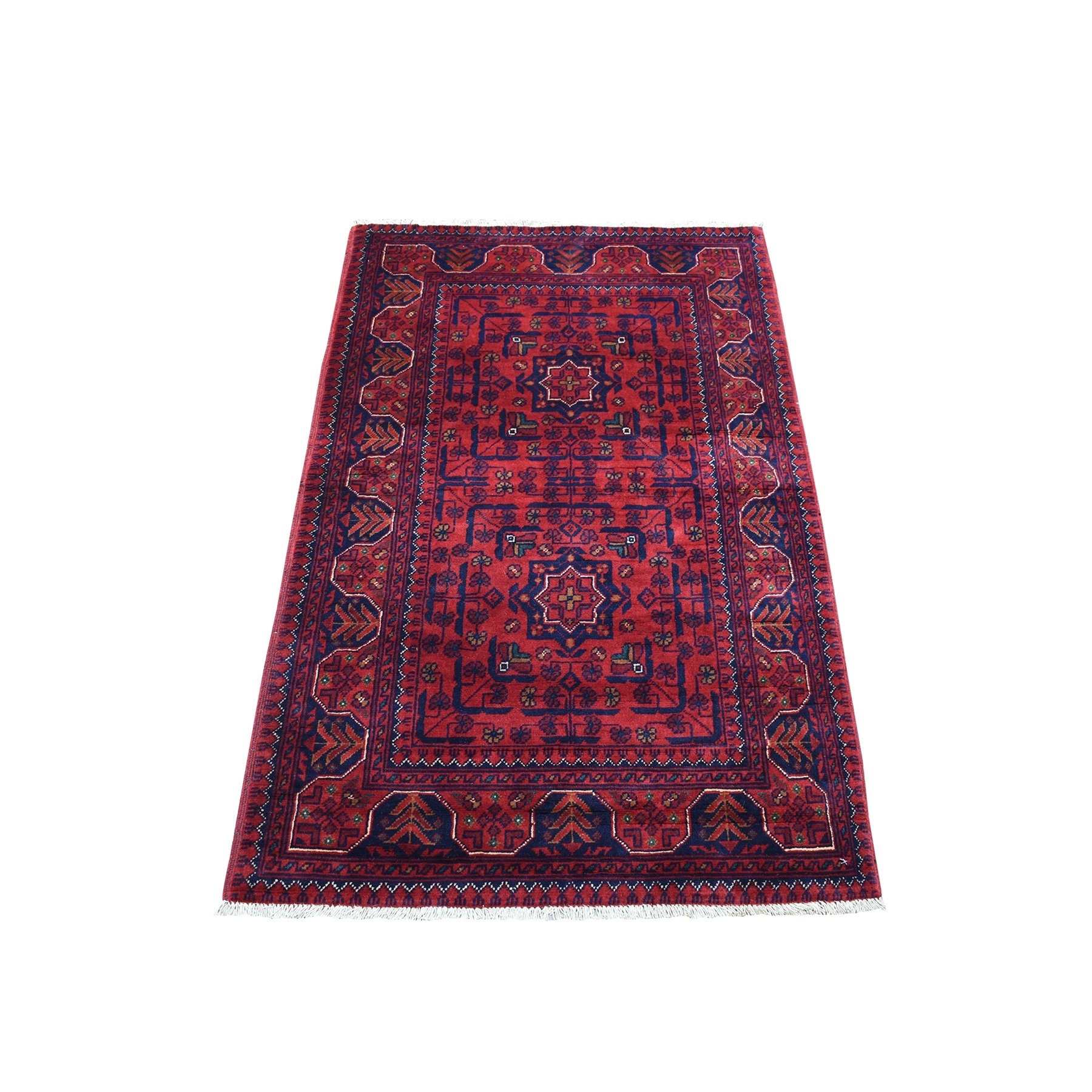 Nomadic And Village Collection Hand Knotted Red Rug No: 1135952