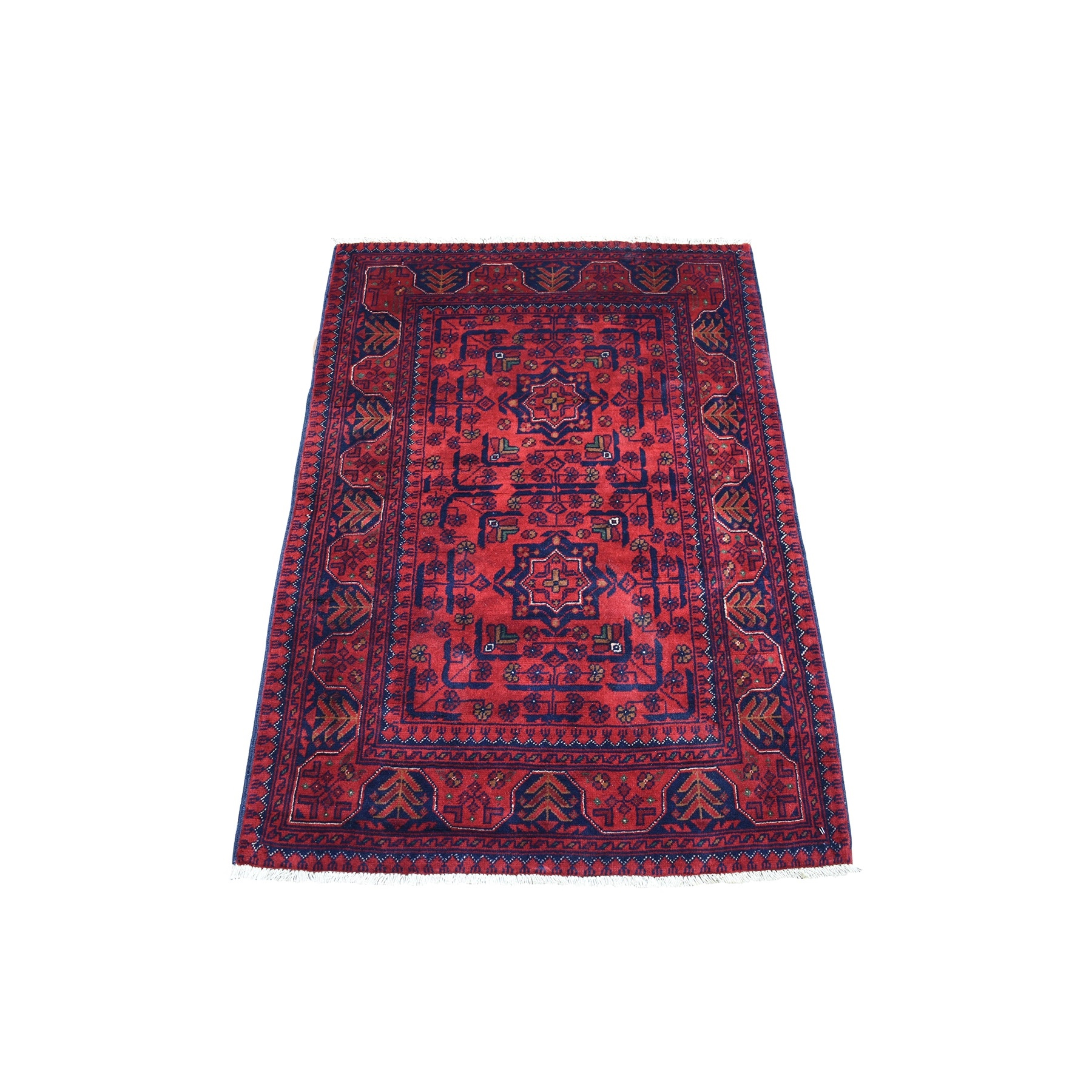 Nomadic And Village Collection Hand Knotted Red Rug No: 1135954