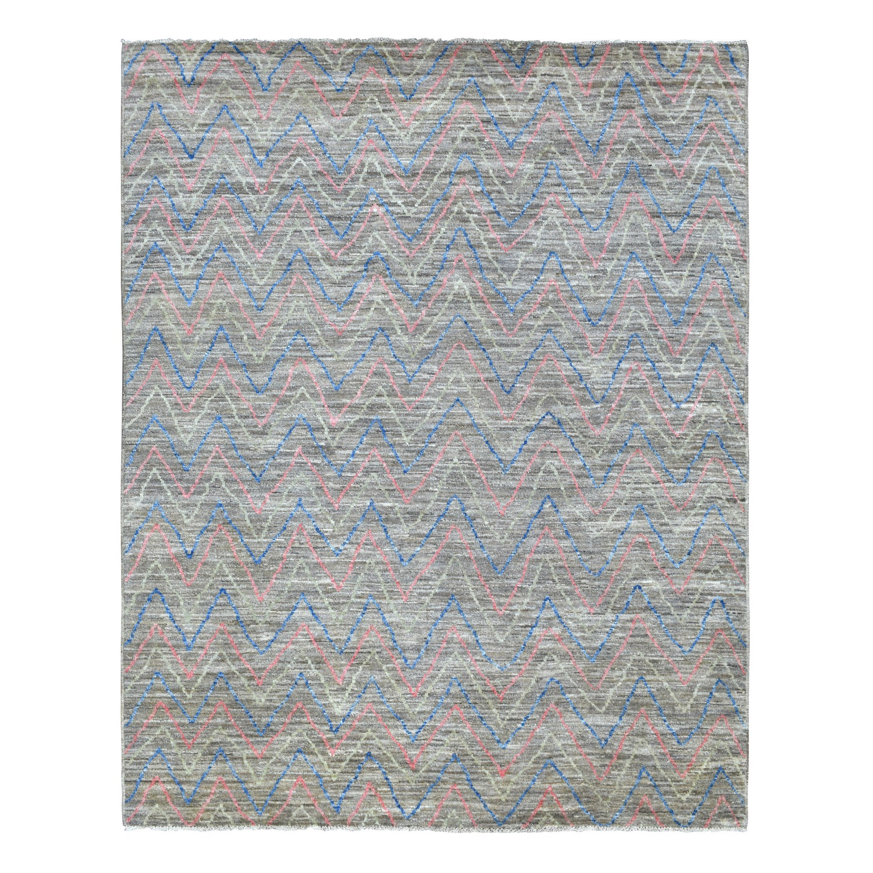 Nomadic And Village Collection Hand Knotted Brown Rug No: 1135996