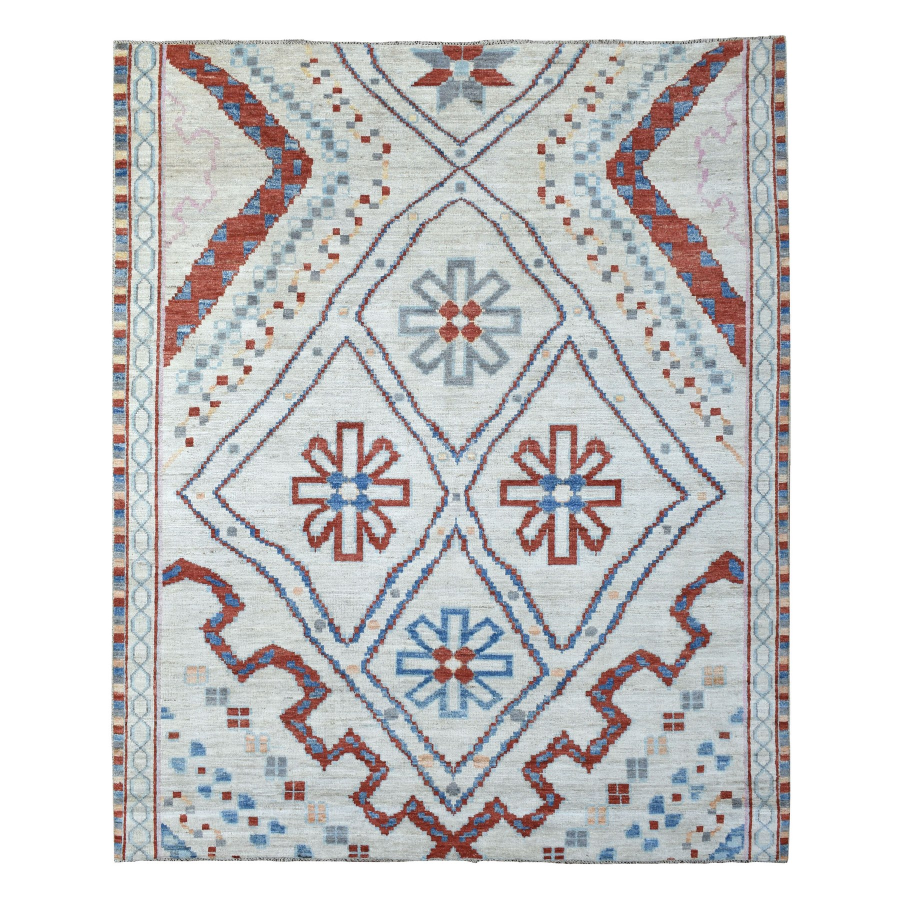 Nomadic And Village Collection Hand Knotted Beige Rug No: 1136022
